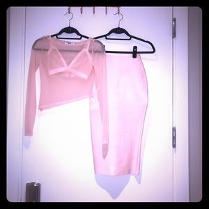 House of CB 3 piece set - Light pink